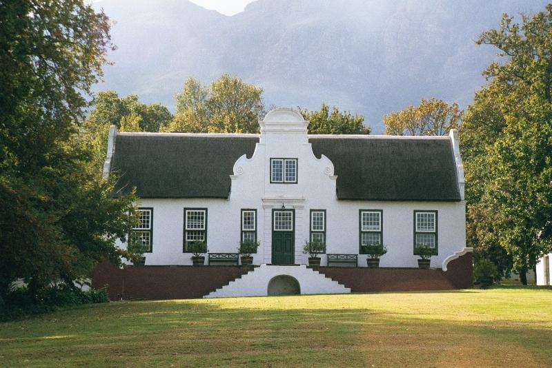 Cape Dutch Architecture The English Room